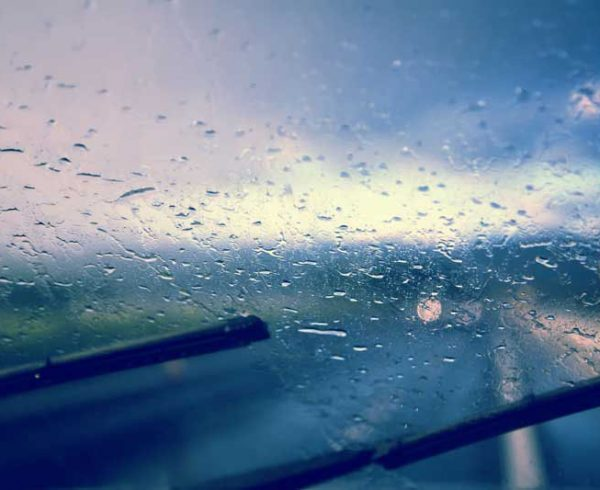 Driving in Spring Showers